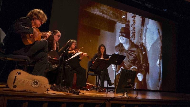 Hesperus performing music for The Mark of Zorro