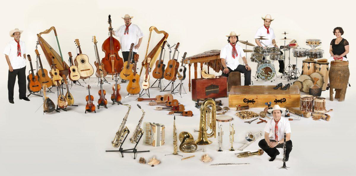 Sones de México Ensemble (photo by John Lowenstein)
