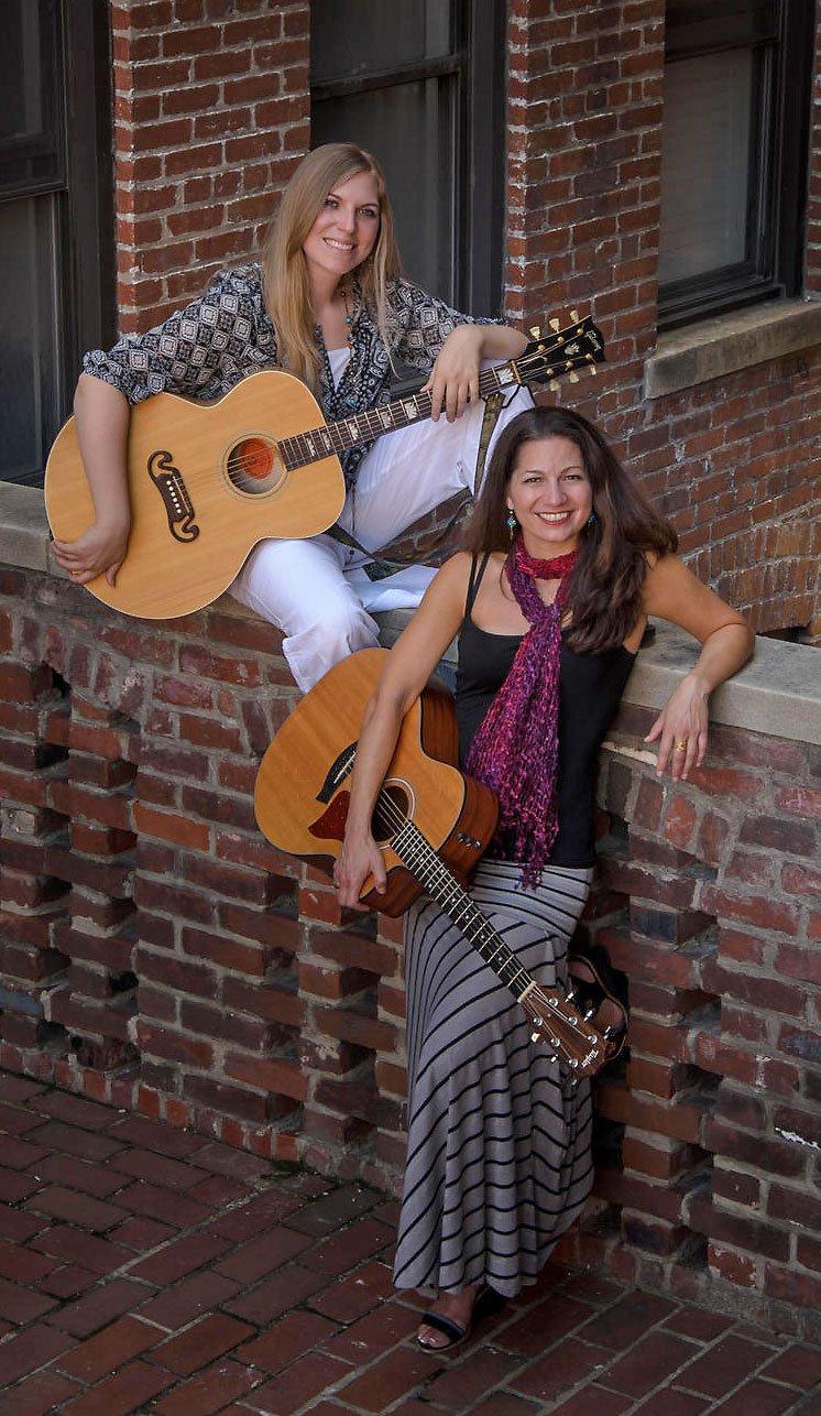 Kipyn Martin & Alison Shapira (Joan & Joni)