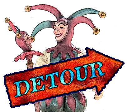 Detour April Fool's Day