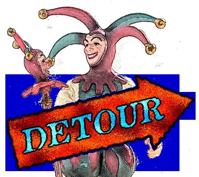 Detour April Fool's Day