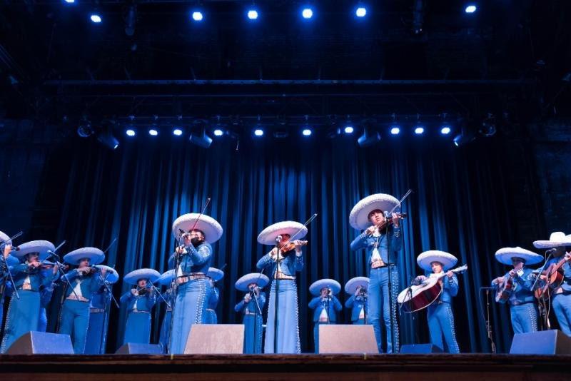 Mariachi Herencia de Mexico (photo © Meg Rachel)