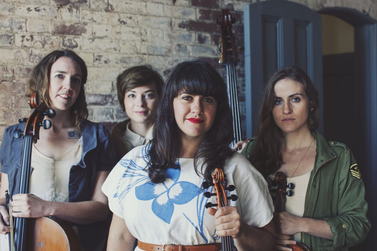 Laura Cortese & the Dance Cards (photo by Louise Bichan)