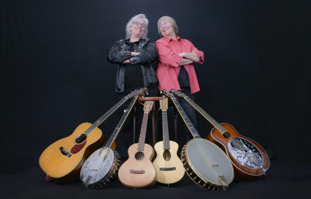 Cathy Fink & Marcy Marxer (photo by Irene Young)