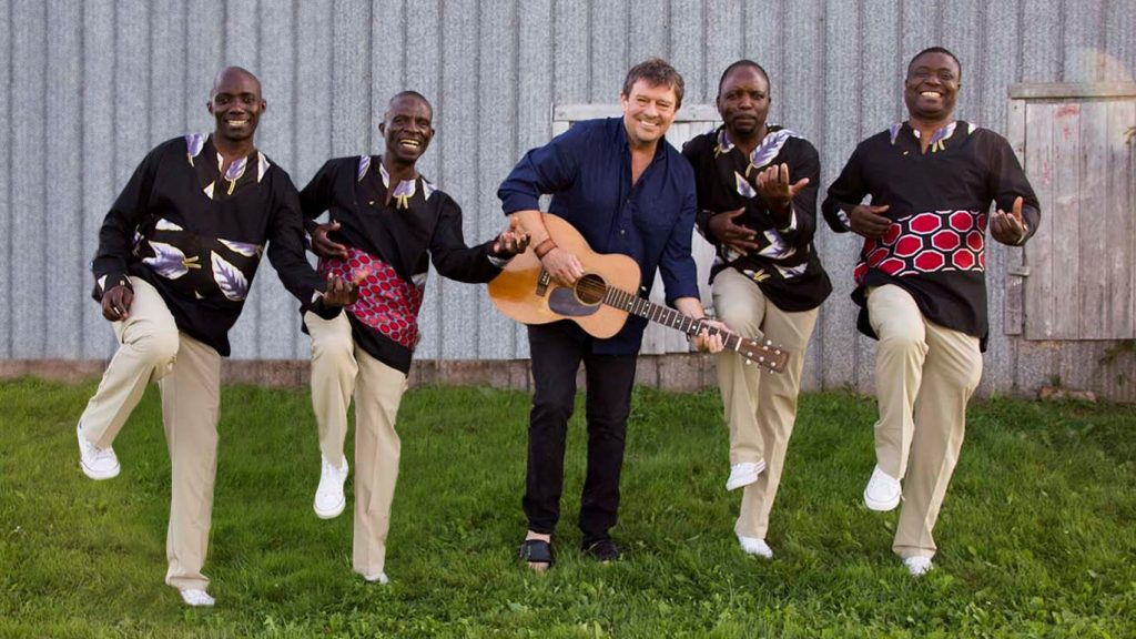Lennie Gallant with Black Umfolosi